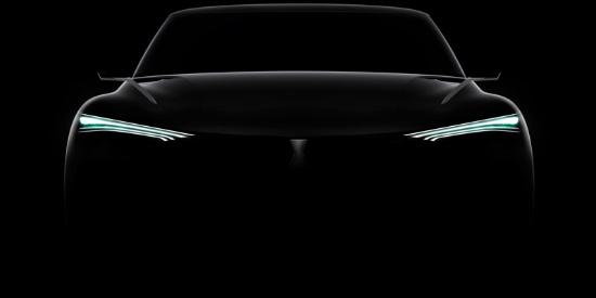 长城魏最美SUV轿跑概念车,比奥迪路虎霸气,车尾背一把宝剑!