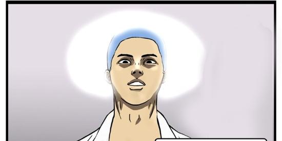 恶搞漫画:手术刀落在病人的肚子里