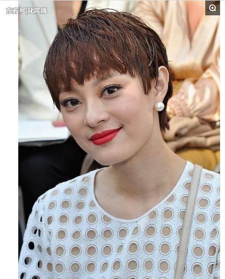 孙俪新发型,老外都看呆了,这才是女首富的正确打开方式图片