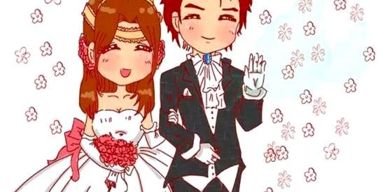 搞笑漫画:他说他们结婚了