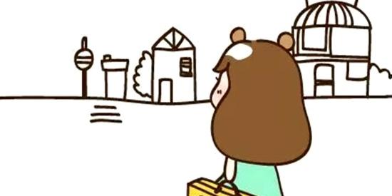 恶搞漫画:想住在一个小城镇